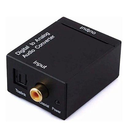 Conversor de Áudio Óptico para RCA IT-Blue LE-4126