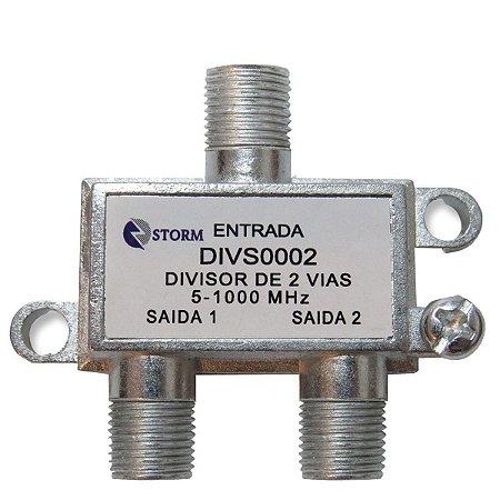 Divisor de Antenas 2 Saídas 900MHZ Storm