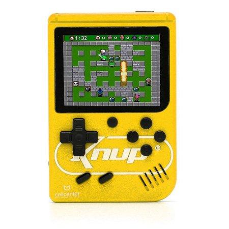 Mini Game M3GAGAM3 Knup KP-GM001 Amarelo