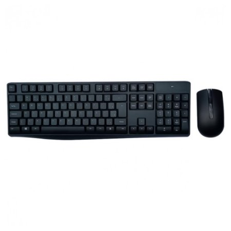 Teclado + Mouse sem Fio Multilaser TC269 Preto