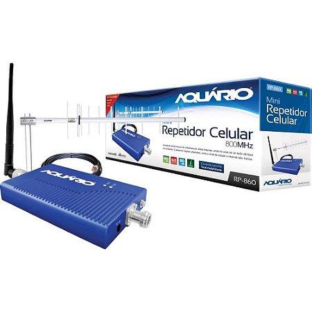 Repetidor Aquário RP-860 com Antena 800MHZ 60DB