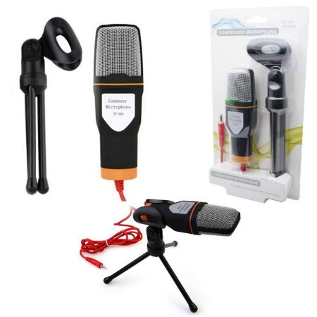 Microfone Condensador SF-666/SF-666B