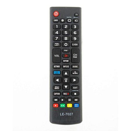 Controle Remoto Lelong LE-7027 para TV LG.