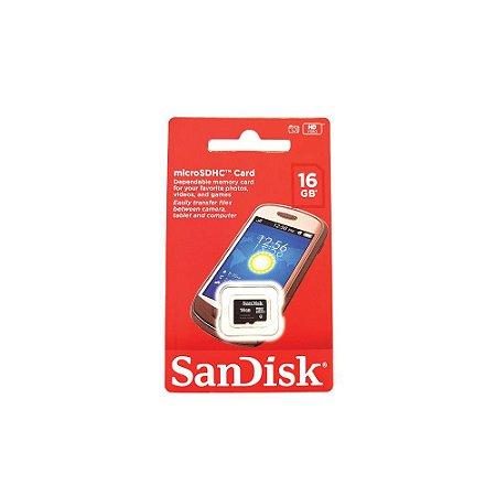 Memória Micro SD Sandisk SDSDQM-016G-B35 16GB