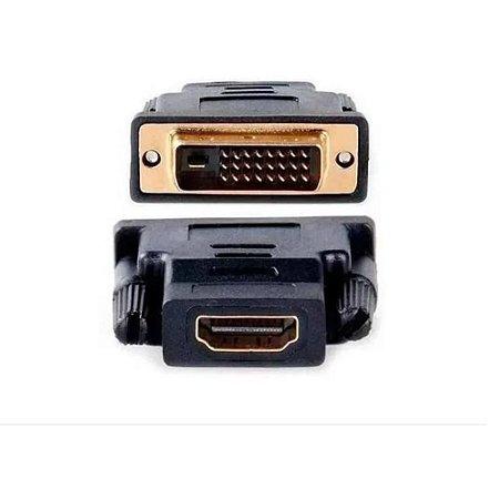 Adaptador DVI Macho x HDMI Fêmea It-Blue LE-5509