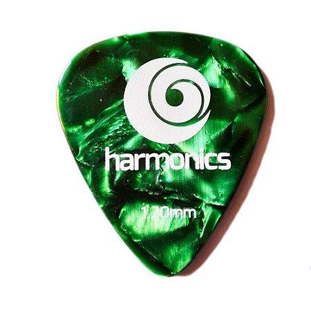 Palheta Harmonics 1,20mm Verde