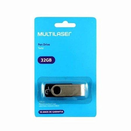 Pen Drive Multilaser 32GB PD589 Twist