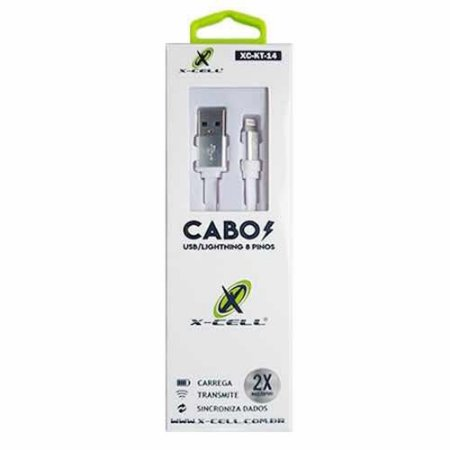 Cabo USB para iPhone X-Cell XC-KT-14 1,2 metro