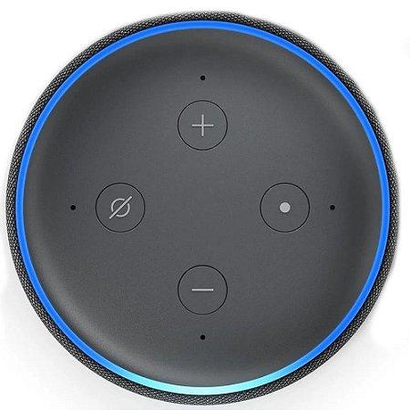 Amazon Echo Dot Alexa 3ª Geração Preta