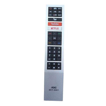 Controle Remoto Sky Sky-9061 para TV AOC