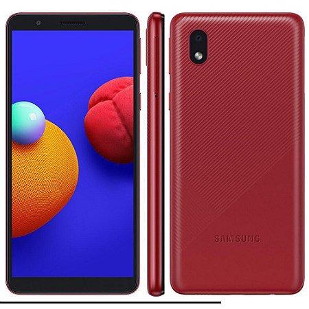 Smartphone Samsung A01 Core 32GB A013M Vermelho