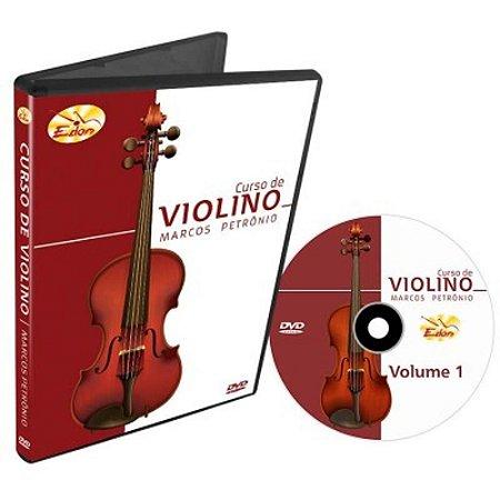 Dvd Vídeo Aula Curso de Violino Vol.1