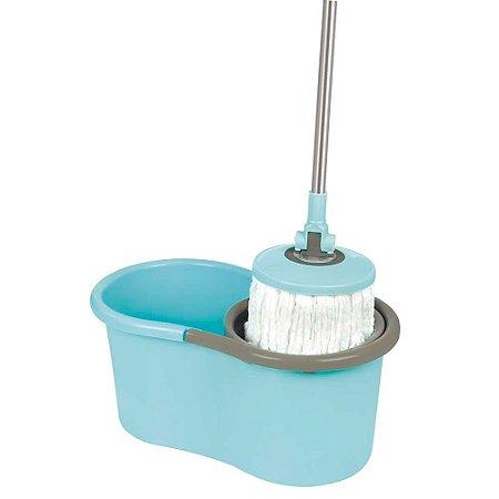 Esfregão Mop Giratório Mor 008298 13Litros Azul