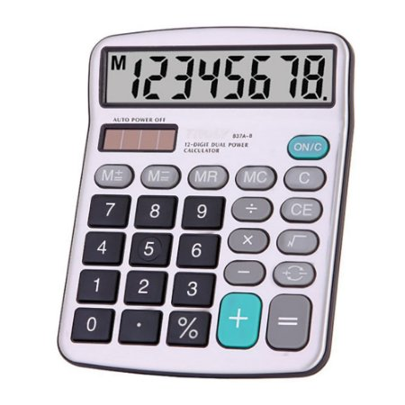 Calculadora de Mesa Truly 837A 8 Dígitos