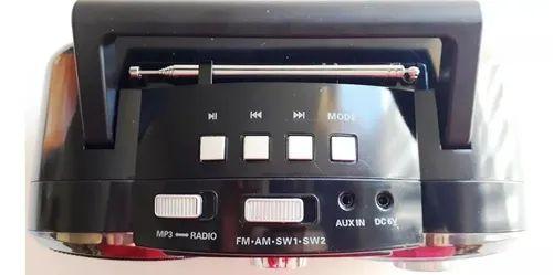 RADIO LE-664 LELONG 4 FAIXAS FM/AM 10W
