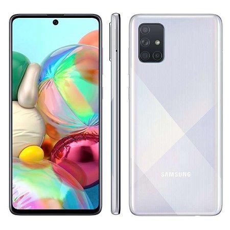 Smartphone Samsung A71 A715 128gb Prata