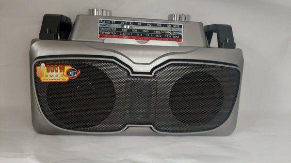 RADIO CNN-3314BT LIVSTAR 3 FAIXAS AM/FM 5W