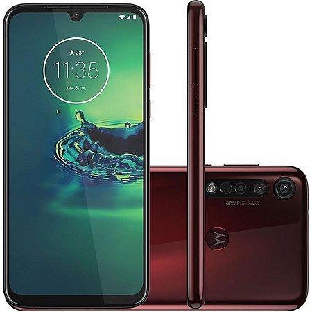 Smartphone Motorola G8 Plus 64GB XT2019 Cereja