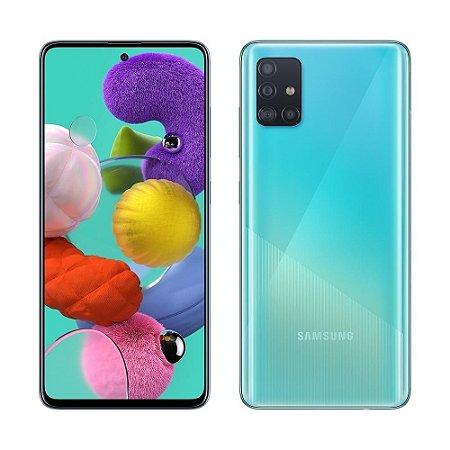 Smartphone Samsung Galaxy A51 128GB A515FGT Azul
