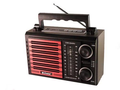 RADIO CNN-2845RU LIVSTAR 3 FAIXAS AM/FM 3W