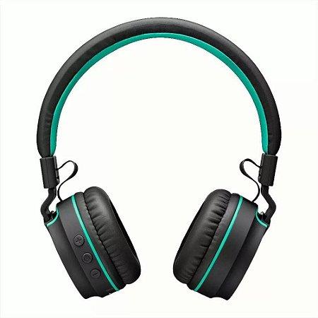 Fone Headset Multilaser Pulse PH215 Bluetooth Pret