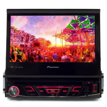 DVD PIONEER AVH-3180BT 7'' RETRATIL