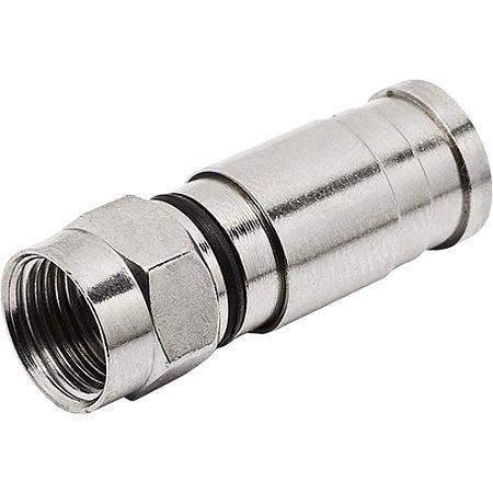 Conector para Cabo Coaxial RG6 Pressão 21.1.121