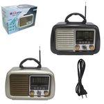 RADIO CNN-2568BT LIVSTAR 3 FAIXAS AM/FM 5W