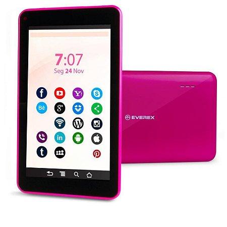 "Tablet Everex M738Q 7"" 8gb Rosa"