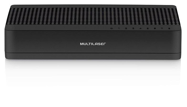 Switch Multilaser 8 Portas 10/100Mbps RE308
