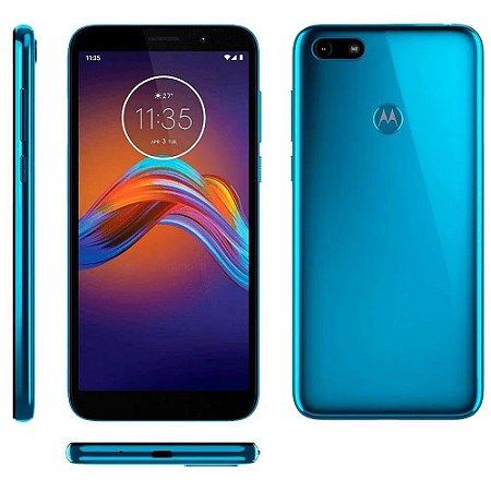 Smartphone Motorola E6 Play 32GB XT2029 Azul Metal
