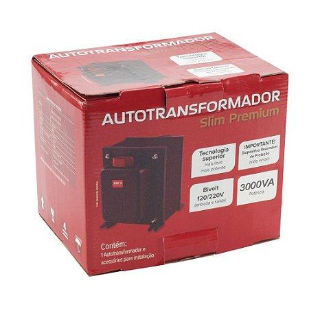 Auto Transformador 3000VA 110V/220V Slim Premium
