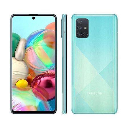 Smartphone Samsung Galaxy A71 128GB A715 Azul