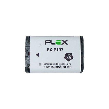 Bateria para Telefone sem fio Flex FX-107 650mAh