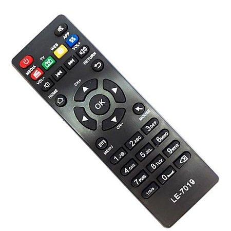 Controle LE-7019 Lelong TV Box Aquário