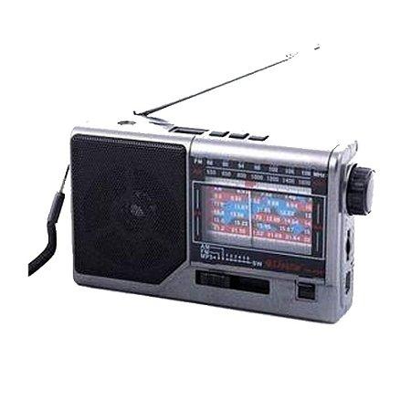 Rádio CNN-959BT Livstar 8 Faixas AM/FM 3W
