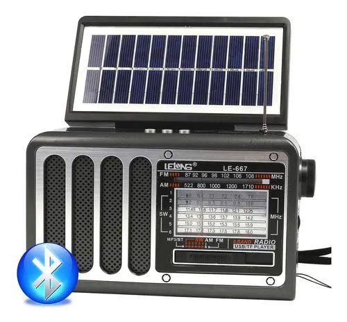 RADIO LE-667 LELONG 8 FAIXAS AM/FM 5W