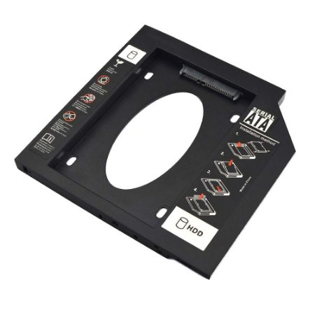 ADAPTADOR DVD P/HDD/SSD GA172 MULTILASER NOT 9.5mm