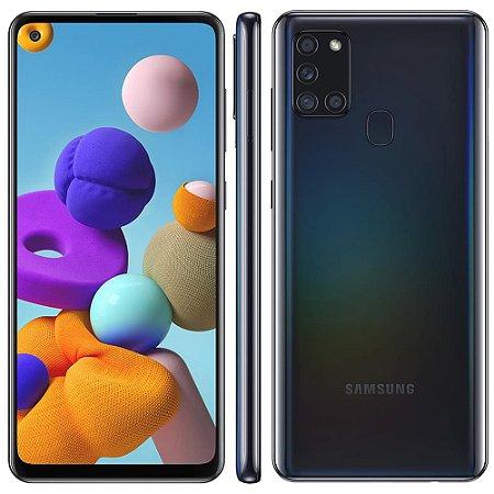 Smartphone Samsung Galaxy A21s 64GB A217M Preto