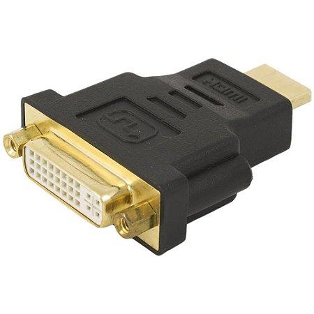 Adaptador DVI F x HDMI M LE-5511 IT. Blue