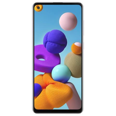 Smartphone Samsung Galaxy A21s 64GB A217M Branco