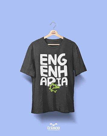 Camisa Engenharia de Produção - Desembola Aí - Cinza - Premium