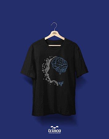 Camisa Universitária Psicologia - Eu, Eu Mesmo e... - Premium