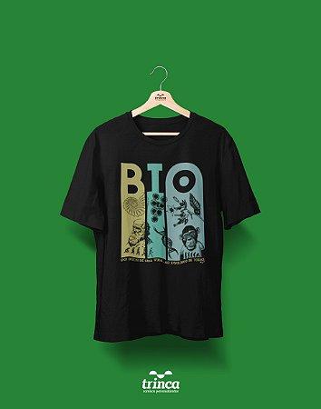 Camisa Universitária Biologia - Aonde vai chegar - Basic