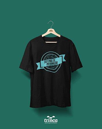 Camisa Universitária Sistemas de Informação - Automatizado - Basic