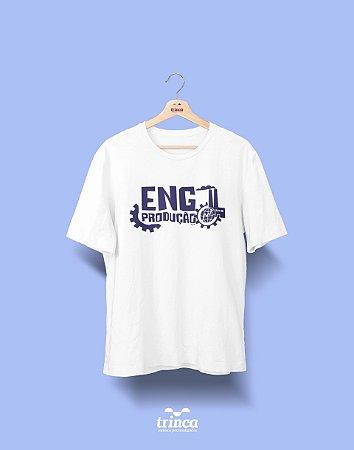 Camisa Universitária Engenharia Produção - 1000 análises - Basic
