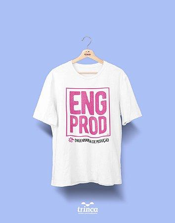 Camisa Universitária Engenharia Produção - Fora da Caixa - Basic