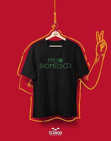 Camiseta Universitária - Biomedicina- Biomeio - Basic