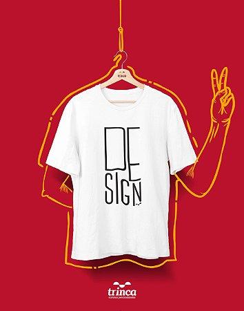 Camiseta Universitária - Design - Minimal - Basic