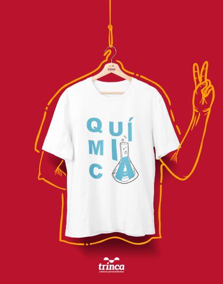 Camiseta Universitária - Química - Quimicamente Falando - Basic